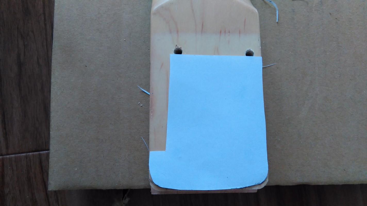 紙が変な形状になっているが、特に意味はないw