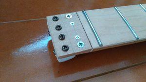 ヘッドピースを置く板を作る