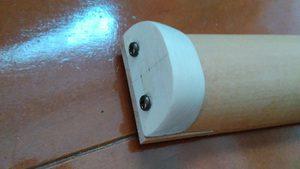 板だけだと強度に不安があるので、ヘッドを作ってがっちりとネックに接合させまつ。